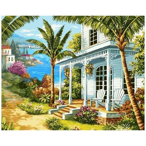 Картина по номерам ФРЕЯ Райский уголок 40х50 см, Картины по номерам и контурам  - купить со скидкой