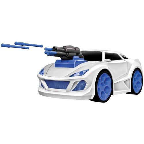 Фото - Легковой автомобиль Пламенный мотор Сталкер Полиция (870345) 19 см белый/синий эвакуатор пламенный мотор 870364 13 см белый