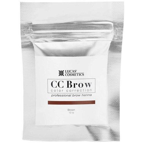 Фото - CC Brow Хна для бровей в саше 10 г brown cc brow хна для бровей в саше 10 г blonde