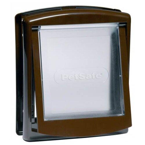 Дверца для собак и кошек PetSafe Original 2 Way Small Brown 730EF