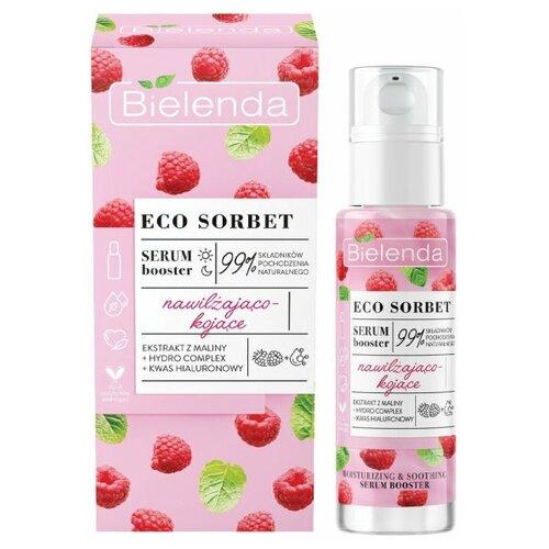ECO SORBET Raspberry Сыворотка для лица увлажняющая и успокаивающая,30 мл