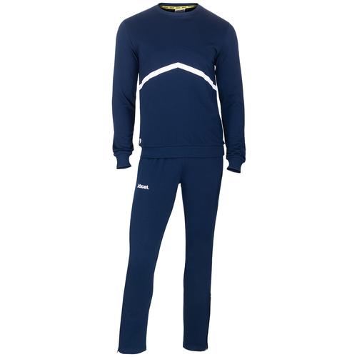 Фото - Тренировочный костюм Jogel Jcs-4201-091, хлопок, темно-синий/белый (L) костюм авангард 001160 l синий