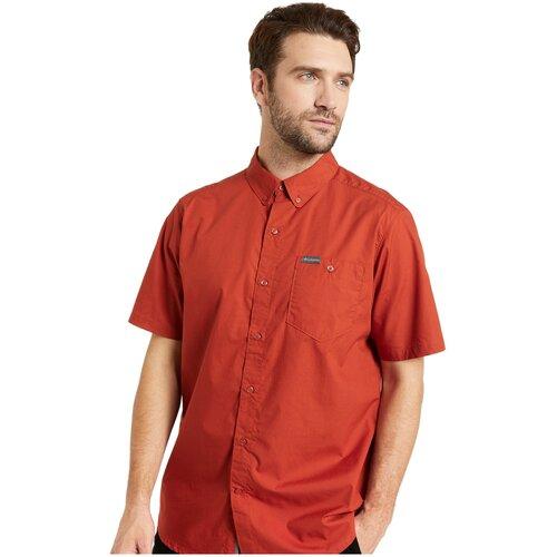 Рубашка Columbia размер M оранжевый columbia куртка утепленная мужская columbia snow country™ размер 46