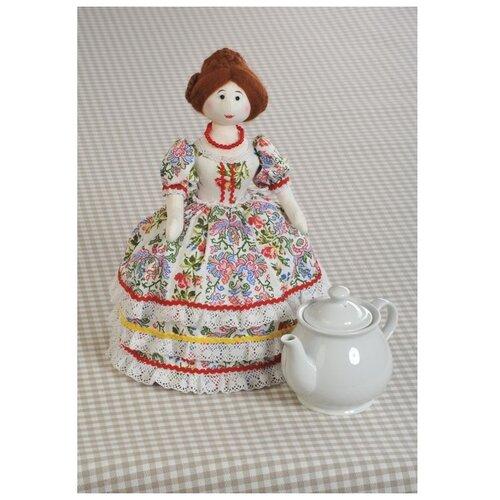 Набор для шитья «Барыня-Грелка» (грелка на чайник), Перловка
