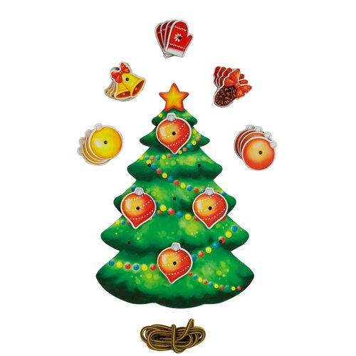 Шнуровка PAREMO Новогодняя елочка (PE720-82) зеленый