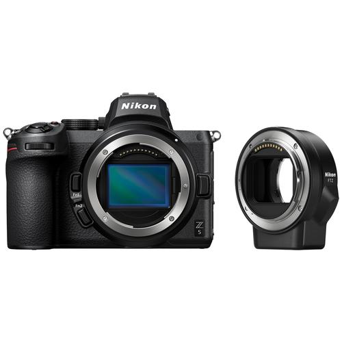 Фото - Фотоаппарат Nikon Z5 Body черный переходник FTZ фотоаппарат nikon z5 kit 24 50 f 4 6 3 c адаптером ftz