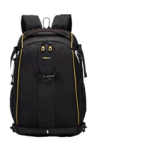 Фото - Противоударный водонепроницаемый рюкзак-сумка MyPads вместительный для фотоаппарата в черном цвете с отделением для дополнительных аксессуаров printio рюкзак мешок с полной запечаткой без названия
