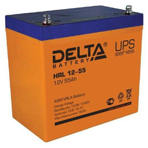 Аккумулятор DELTA HRL 12-55 аккумулятор delta battery gel 12 55