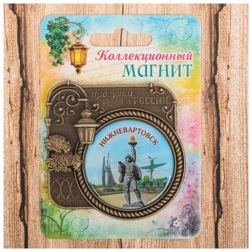 Магнит серия Прогулки по России «Нижневартовск», 6 х 6,1 см 2617149