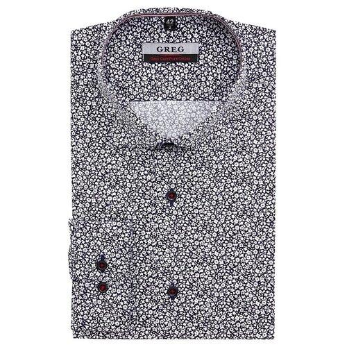 Рубашка GREG серый