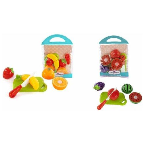 Купить Набор для резки Учимся готовить фрукты 3шт в ас-те., Mary Poppins, Игрушечная еда и посуда