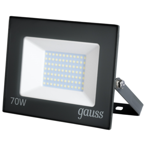 Прожектор светодиодный уличный Gauss Basic 70 Вт 6500К IP65 холодный белый свет
