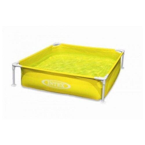 Детский каркасный бассейн Intex, желтый (57171) детский бассейн intex royal castle baby 57122
