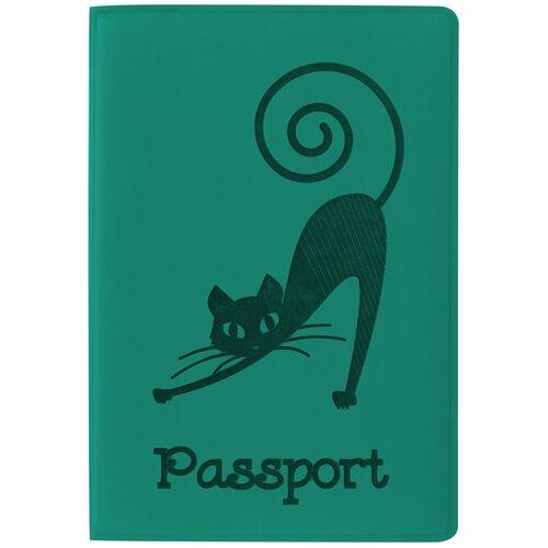 Обложка для паспорта STAFF, мягкий полиуретан,