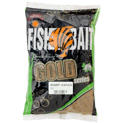 Прикормочная смесь FishBait Gold Фидер Карась 1000 г