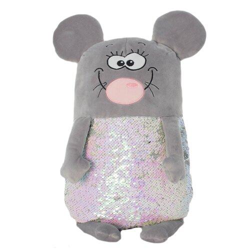 Мягкая игрушка KiddieArt Модные зверята Мышь 50 см