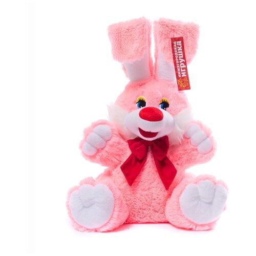 Мягкая игрушка Нижегородская игрушка Зайчик с бантиком