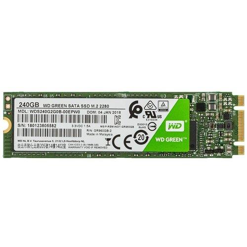 Твердотельный накопитель Western Digital WD Green SATA 240 GB WDS240G2G0B