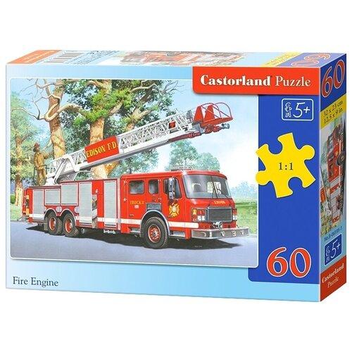 Пазл Castorland Fire Engine (B-06595), 60 дет. пазл castorland cute kittens b 066087 60 дет