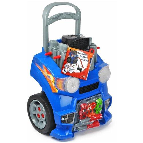 dickie toys набор dickie toys команда спасения sos Dickie Toys Набор Ремонт автомобиля
