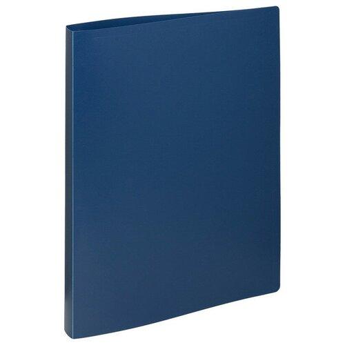 Купить Папка на 4-х кольцах, 16/25мм А4 ATTACHE синяя 3 шт., Файлы и папки