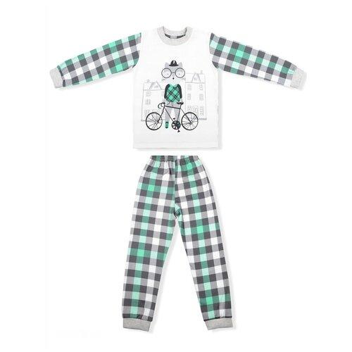 Фото - Пижама LEO размер 98, зеленый пижама leo размер 98 красный