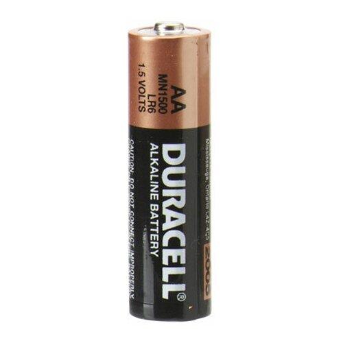Фото - Батарейка Duracell (LR6) AA Alkaline Basic 1шт. батарейка aa ansmann industrial alkaline lr6 10 штук 1502 0006