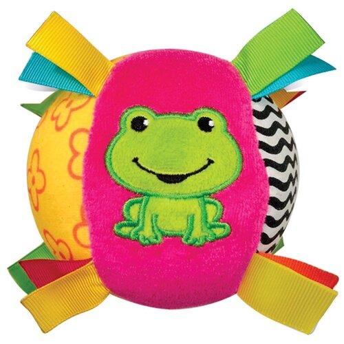 Фото - Развивающая игрушка Азбукварик Мячик Песенка Люленьки, розовый/зеленый/желтый подвесная игрушка азбукварик зайчонок люленьки желтый голубой