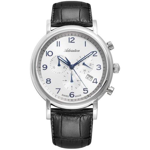 Фото - Часы наручные мужские Adriatica A8297.52B3CH мужские часы adriatica a8279 r154q