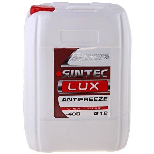 Антифриз SINTEC LUX G12 -40 10 кг