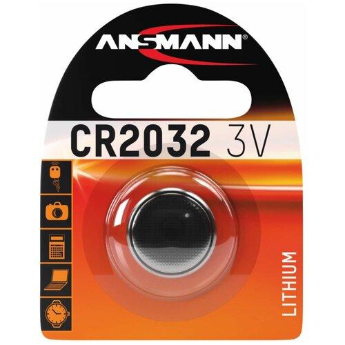 Фото - Батарейка ANSMANN CR2032, 1 шт. батарейка smartbuy cr2032 1 шт