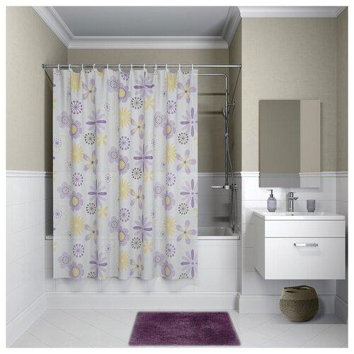 Штора для ванной комнаты, 180*180см, PEVA, P03PV11i11, IDDIS штора для ванной комнаты 180 180см peva p27pv11i11 iddis