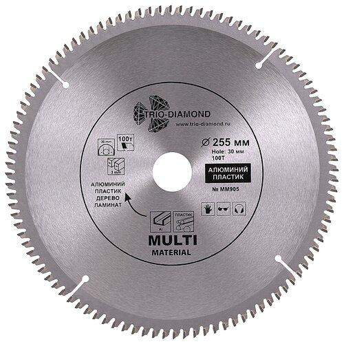 Диск пильный по мультиматериалам Trio-Diamond 255*30*100Т MM905