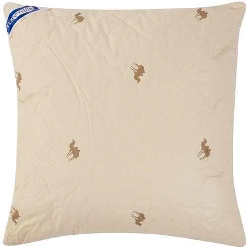 Подушка ТекСтиль Верблюжья шерсть 70 х 70 см бежевый