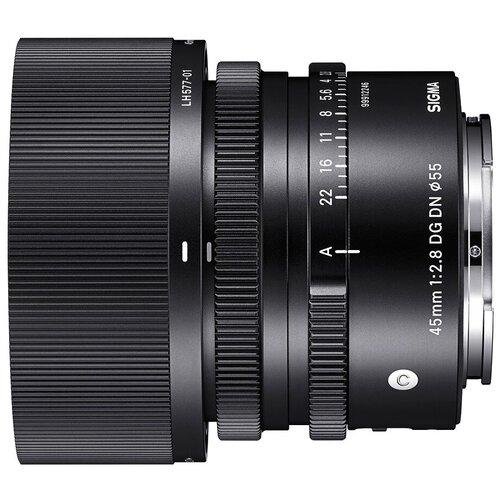 Объектив Sigma 45mm f/2.8 DG DN Contemporary Sony E черный