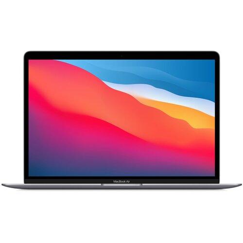"Ноутбук Apple MacBook Air 13 Late 2020 (Apple M1/13.3""/2560x1600/8GB/512GB SSD/DVD нет/Apple graphics 8-core/Wi-Fi/Bluetooth/macOS) MGN73RU/A серый космос"