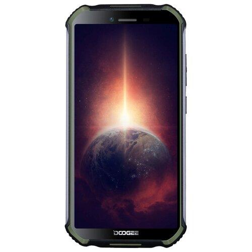 Фото - Смартфон DOOGEE S40 Pro 64GB, черный/зеленый смартфон doogee s58 pro fire orange