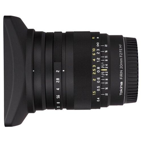 Фото - Объектив Tokina FiRIN 20mm f/2.0 FE MF Sony E объектив viltrox pfu rbmh 20mm f 1 8 asph sony e черный