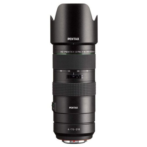 Объектив Pentax D FA 70-210mm f/4 ED SDM WR черный