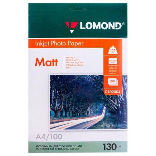 Фото - Бумага Lomond A4 Photo Paper 0102004 130 г/м² 100 лист., белый бумага lomond a4 photo paper 0102003 120 г м² 100 лист белый