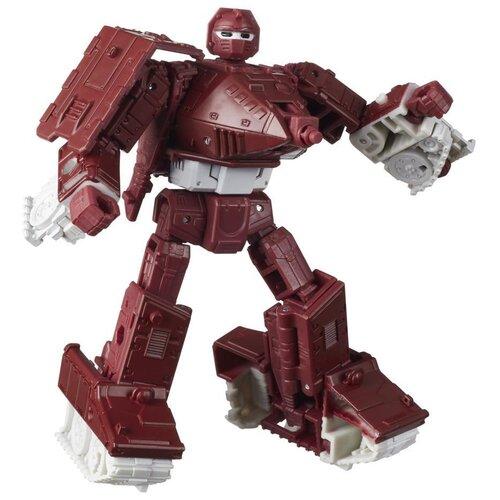 Купить Трансформер Transformers Королевство. Класс Делюкс. Ворпас (F0671) бордовый/белый, Роботы и трансформеры