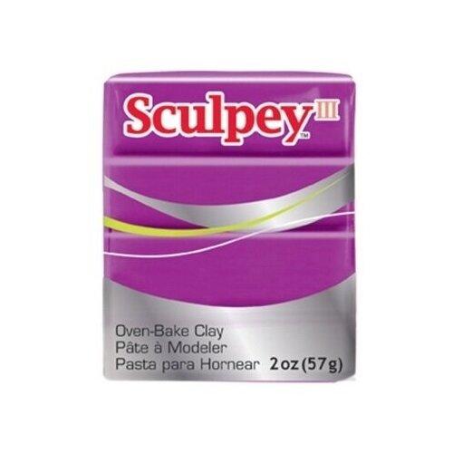 Купить Полимерная глина Sculpey III 1112 (лилово-жемчужный), 57г, Глина
