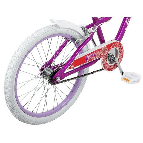 Велосипед детский Schwinn Elm 20, цвет: фиолетовый