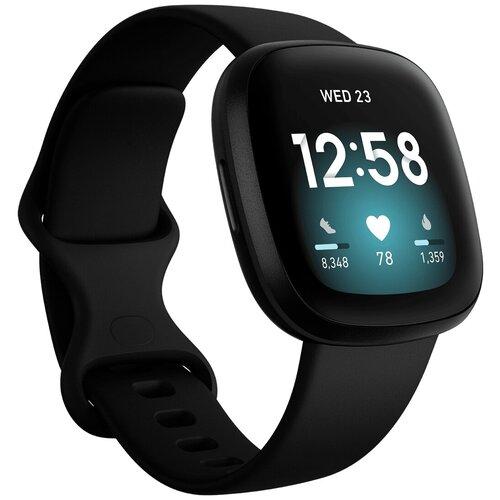 Умные часы Fitbit Versa 3, black