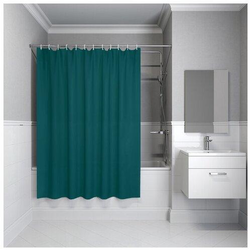Фото - Штора для ванной IDDIS P35PV11i11 180х180 зеленый штора для ванной iddis 680p18ri11 180x200 зеленый черный