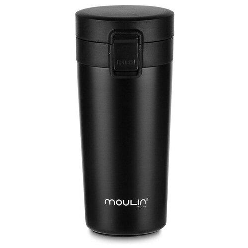 Термокружка MOULIN VILLA City TBC-420, 0.42 л черный
