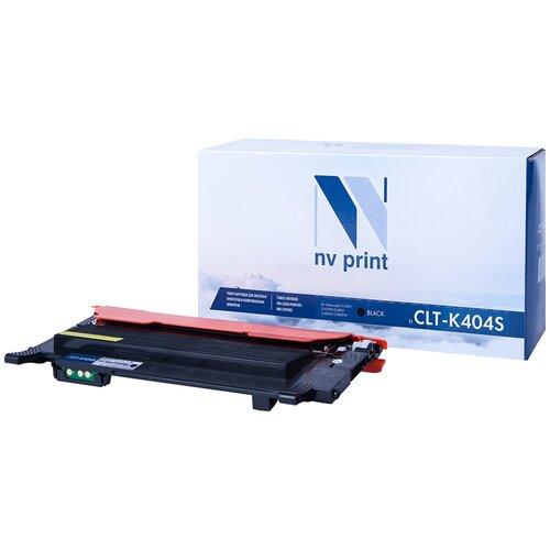 Картридж NV Print CLT-K404S для Samsung, совместимый картридж nv print clt m406s для samsung совместимый