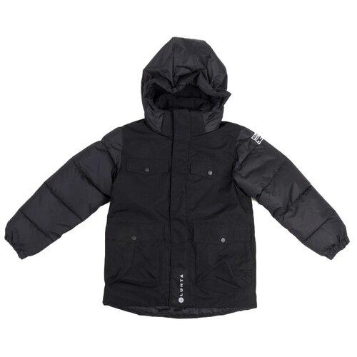 Куртка LUHTA размер 158, черный luhta шарф женский luhta alana