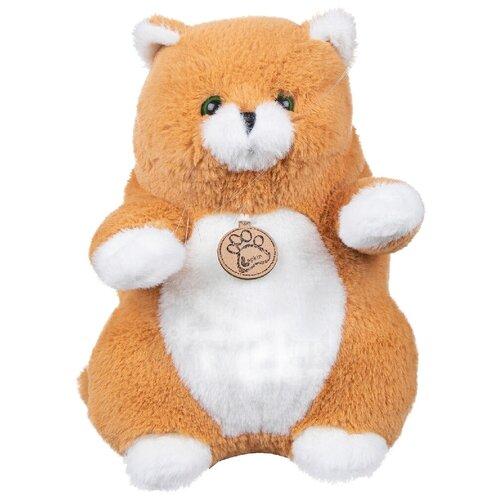 Мягкая игрушка Lapkin Толстый кот рыжий 26 см