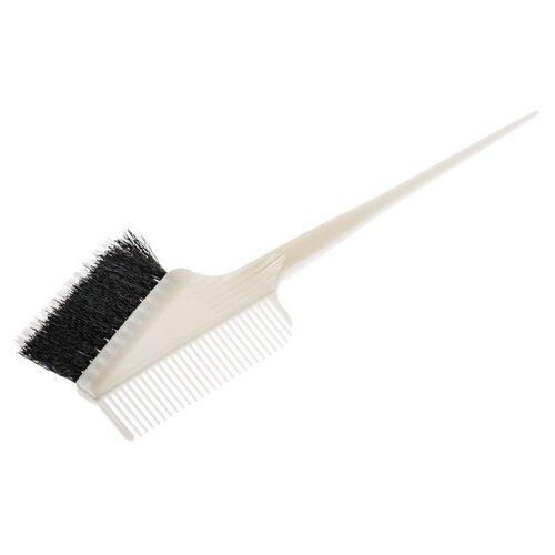 Купить Кисть для окрашивания с расчёской с комбинированной щетиной h10952-combo, harizma